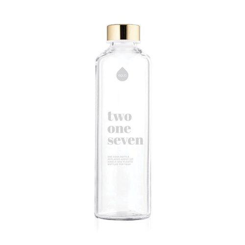 217 Fehér (750 ml) üvegkulacs